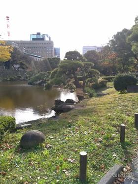 日比谷公園(首かけイチョウ)